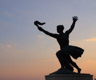 Die Freiheitsstatue Budapests