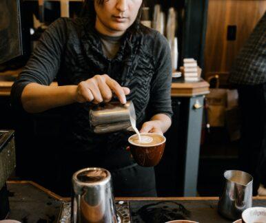 Ein Kaffeehaus in Budapest